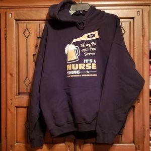 Sweatshirt/Hoodie (nurse)